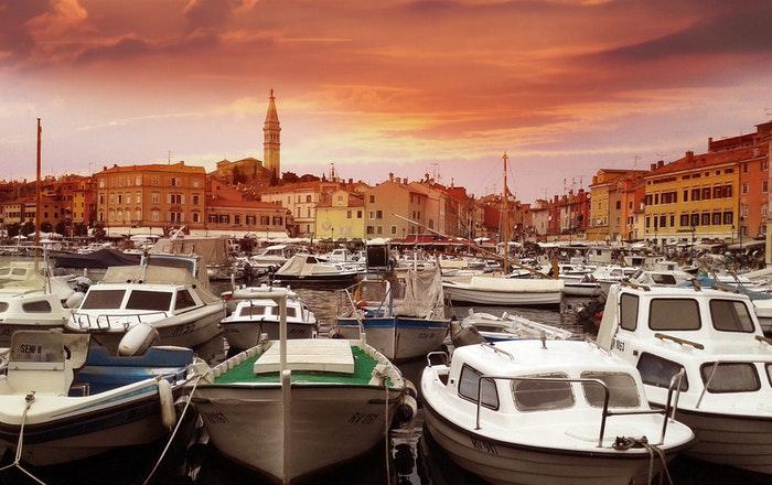 Lystbådhavn i Kroatien